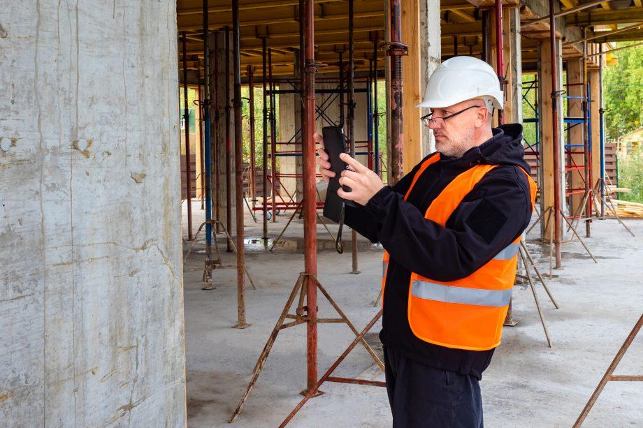 monitoren van bouwproces